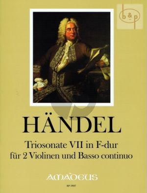 Triosonate No.7 F-major HWV 397