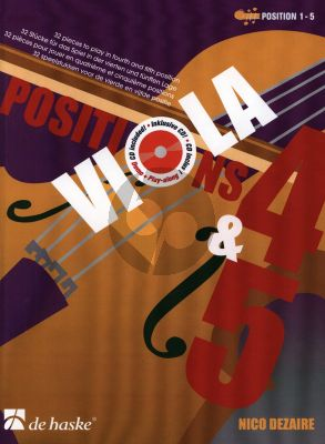 Dezaire Viola Positions 4 - 5 (Altviool) (pos. 4 - 5) (Bk-Cd)