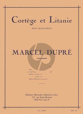 Dupre Cortege et Litanie Op.19 No.2 Orgue
