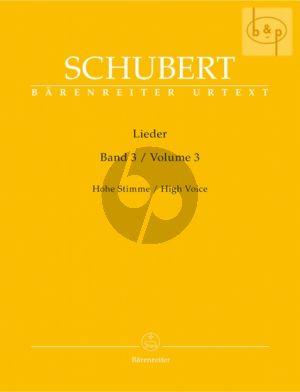 Lieder Vol. 3 Hoch / High
