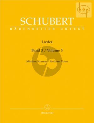 Lieder Vol. 3 Mittel / Medium