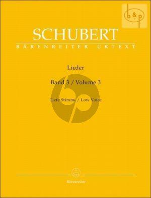 Lieder Vol. 3 Tief / Low