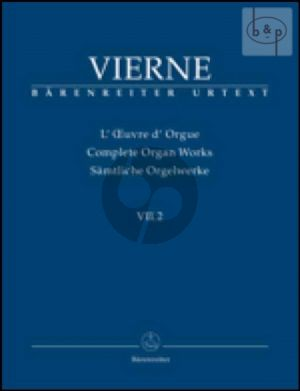 Pieces de Fantaisie Livre 2 No.7 - 12 Op.53 (1926) (Complete Organ Works VII.2)