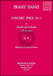 Concert Piece No.1 Op.45 B-flat major (Clarinet-Orch.)