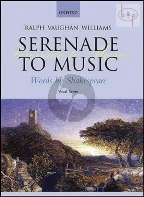 Serenade to Music (Words by Shakespeare)