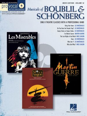 Musicals of Boubil and Schoneberg