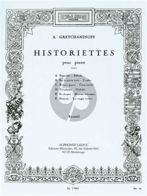 Historiettes op.118 Piano Solo