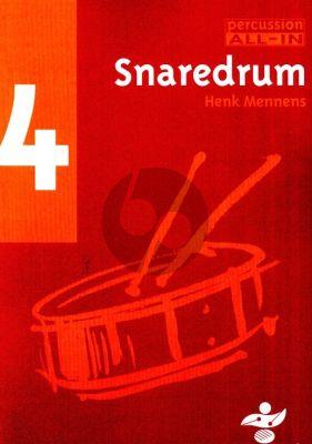 Mennens Percussion All In Vol.4 Snaredrum