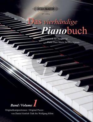 Das Vierhandige Pianobuch Vol.1