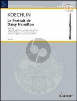 Le Portrait de Daisy Hamilton Op.140 Vol.5 8 Pieces