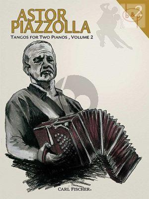 Tangos Vol.2 for 2 Piano's