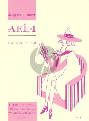 Ibert Aria Flute-Piano