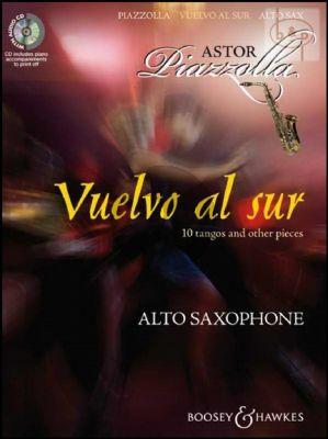 Piazzolla Vuelvo al Sur for Alto Saxophone
