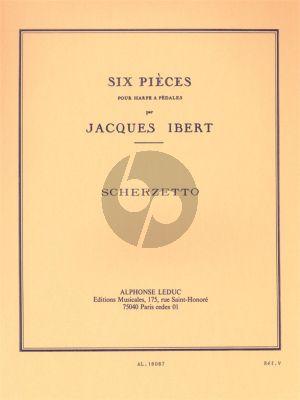 Ibert Scherzetto Harpe (Grade 4)