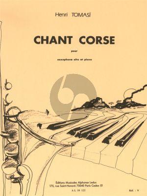 Tomasi Chant Corse (Saxophone alto et Piano)
