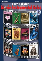 Easy Popular Movie Instrumental Solos for Trumpet (Bk-Cd) (Level 1)