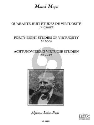 Moyse 48 Etudes de Virtuosite Vol.1 Flute