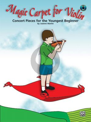 Martin Magic Carpet for Violin (Concert Pieces for the Youngest Beginner) (Bk-Cd)