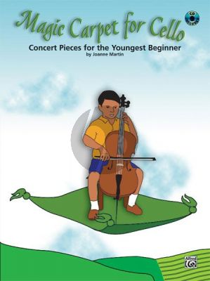 Martin Magic Carpet for Cello (Concert Pieces for the Youngest Beginner) (Bk-Cd)