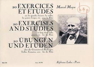 20 Exercises et Etudes sur les grandes Liaisons