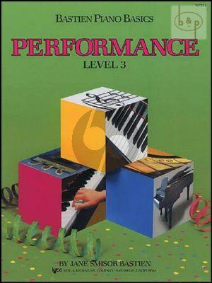 Piano Basics Performance Level 3