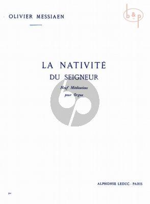 La Nativite du Seigneur Vol. 1 pour Orgue