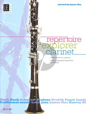 Repertoire Explorer Clarinet (Graded Pieces for Beginners) (arr. James Rae) (grade 1 - 2)