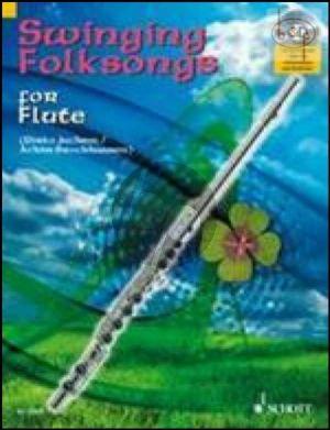Swinging Folksongs (Flute) (Bk-Cd)