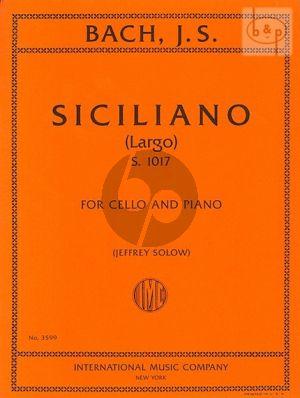 Siciliano (Largo)