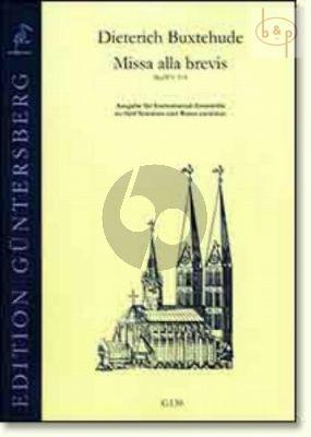 Missa alla brevis BuxWV 114 (5 Voices[SSATB]-Bc) (Score/Parts)