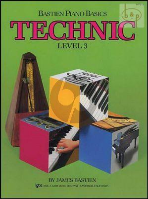 Piano Basics Technic Level 3