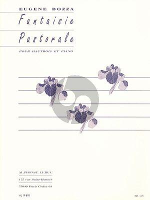 Bozza Fantaisie Pastorale Op.37 Hautbois-Piano