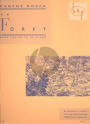 En Foret French Horn - Piano