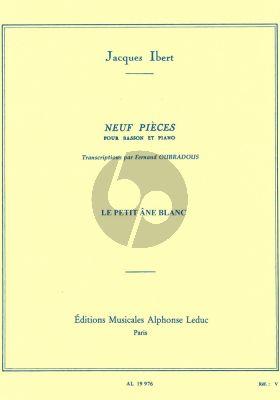 Le Petit Ane Blanc Basson-Piano