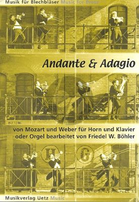 Mozart Andante (from Bassoon Concerto KV 191) with Weber
