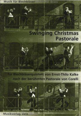 Swinging Christmas Pastorale (based on Corelli's Pastorale) (2 Trp.[Bb/C]-Horn[F]-Trombone- Tuba) (Score/Parts)