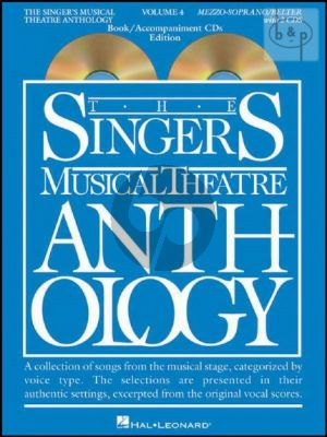Singers Musical Theatre Anthology Vol.4 (Mezzo-Soprano/Belter)