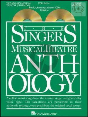 Singers Musical Theatre Anthology Vol.4 (Tenor)