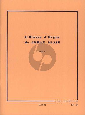 Alain L'Oeuvre d'Orgue Vol. 2 (Marie-Claire Alain)