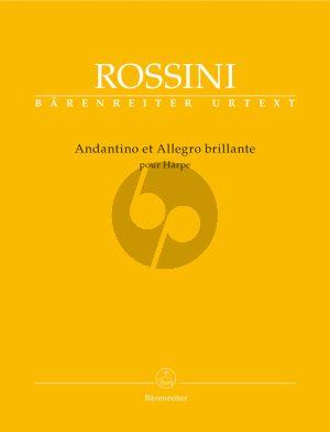 Rossini Andantino et Allegro Brillante for Harp (edited by Patricia B.Brauner)
