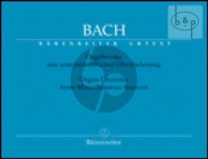 Orgelwerke Band 10 Orgelchorale aus unterschiedlicher Uberlieferung