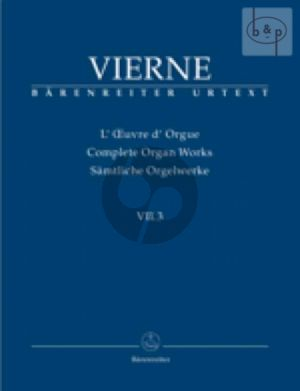 Pieces de Fantaisie Livre 3 No.13 - 18 Op.54 (1927) (Complete Organ Works VII.3)