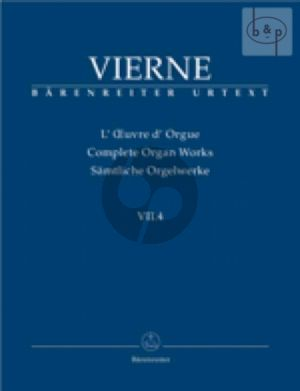 Pieces de Fantaisie Livre 4 No.19 - 24 Op.55 (1927) (Complete Organ Works VII.4)