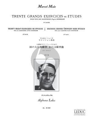 Mule 30 Grands Exercises ou Etudes d'apres Soussman Vol.1