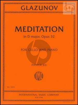 Meditation D-major Op.32