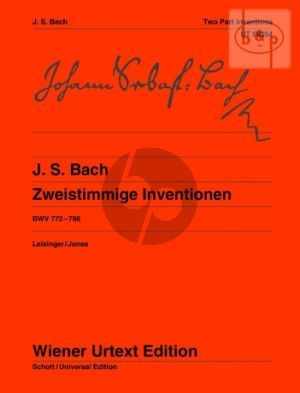 2 Part Inventions BWV 772 - 786 Klavier