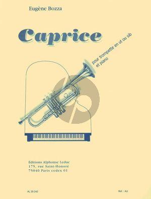 Bitsch Caprice pour Trompette et Piano