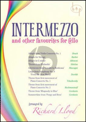 Intermezzo and other Favourites for Cello