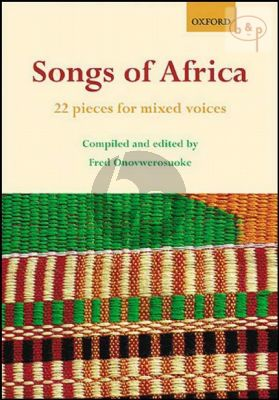 Songs of Africa (22 Pieces)