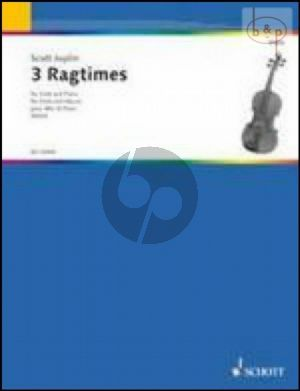 3 Ragtimes for Viola and Piano